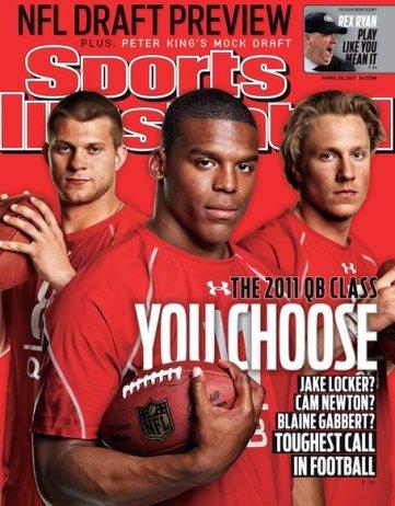Cam Newton, Jake Locker, Blaine Gabbert